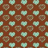 De prentbriefkaar van de valentijnskaartendag Stock Foto