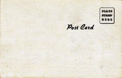 de Prentbriefkaar van jaren '50, Natuurlijke Toon Stock Foto's