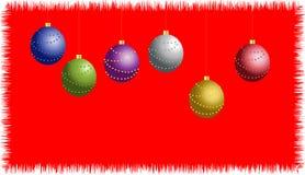 De prentbriefkaar van Kerstmis Stock Fotografie