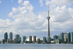 De Prentbriefkaar van Toronto stock afbeeldingen