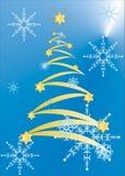 De prentbriefkaaren van Kerstmis stock illustratie