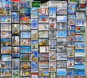 De prentbriefkaaren van Lissabon Stock Foto