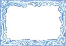 De prentbriefkaarframe van Kerstmis Royalty-vrije Stock Afbeeldingen