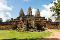 De Prerup-tempel Stock Fotografie