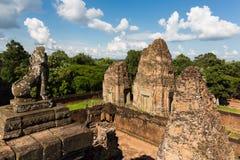 De Prerup-tempel Stock Afbeeldingen