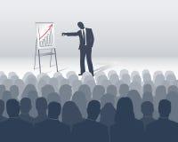 De presentatie van de verkoop royalty-vrije illustratie