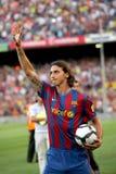 De presentatie van Ibrahimovic van Zlatan Stock Foto