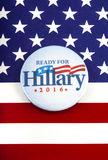 De Presidentiële Campagne van Hillary Clinton 2016 Royalty-vrije Stock Fotografie