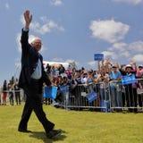De presidentiële gastheren Presidentiële Campaig Kandidaat van Bernie Sanders Stock Foto