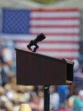 De presidentiële gastheren Presidentiële Campaig Kandidaat van Bernie Sanders Royalty-vrije Stock Foto's
