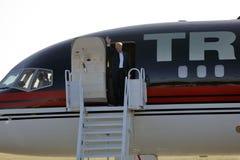 De Presidentiële Kandidaat Donald Trump Campaigns In Sacramento van GOP, Royalty-vrije Stock Fotografie