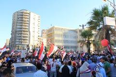 De presidentiële verkiezingen van Egypte Royalty-vrije Stock Fotografie