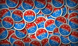 De presidentsverkiezing van de V.S. stock foto