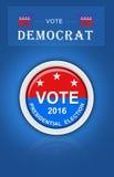 De presidentsverkiezing van de V.S. stock afbeeldingen