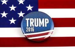 De Presidentsverkiezing van Donald Trump de V.S. Stock Fotografie