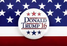 De Presidentsverkiezing van Donald Trump de V.S. Stock Foto