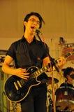 De prestaties van de band tijdens KUNNEN! partij Royalty-vrije Stock Afbeeldingen