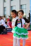 De prestaties van de Dag van kinderen Stock Foto