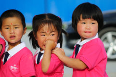 De prestaties van de Dag van kinderen Stock Afbeelding