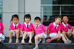 De prestaties van de Dag van kinderen Royalty-vrije Stock Afbeeldingen