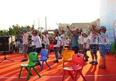 De prestaties van de Dag van kinderen Stock Foto's