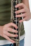De Prestaties van de klarinet royalty-vrije stock afbeelding