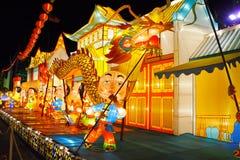 De Prestaties van de lantaarn (China) Royalty-vrije Stock Foto's