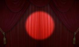 De prestaties van het theater Royalty-vrije Stock Foto's