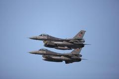 De prestaties van vliegtuigen Stock Fotografie