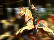 De pret van de carrousel Stock Foto