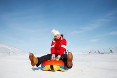 De pret van de winter Stock Afbeelding
