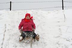 De pret van de winter royalty-vrije stock foto