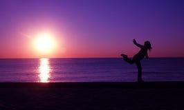 De pret van het strand royalty-vrije stock fotografie