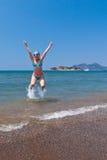 De Pret van het Strand van de zomer Royalty-vrije Stock Foto's
