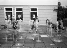 De pret van het water. Stock Foto's