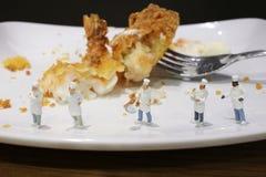 de pret van de Kleine koks kookt Royalty-vrije Stock Afbeeldingen