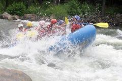 De Pret van Rafting van Whitewater royalty-vrije stock foto