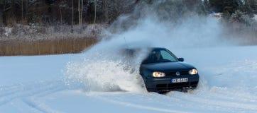 De pret van de winter Stock Foto