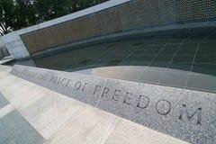 De prijs van vrijheid stock foto