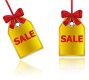 De prijskaartjes van de verkoop Royalty-vrije Stock Fotografie
