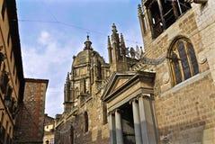 De Primaatkathedraal van Heilige Mary van Toledo Stock Foto's