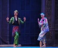 De prins en de Prinses van Japan het het suikergoedkoninkrijk van het tweede handelings tweede gebied - de Balletnotekraker Royalty-vrije Stock Foto's