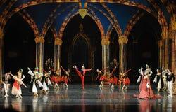 De prins van bar het mitzvah-derde handeling-ballet Zwaanmeer stock foto's