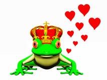 De prins van de kikker Vector Illustratie