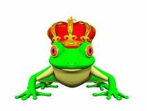 De prins van de kikker Royalty-vrije Illustratie