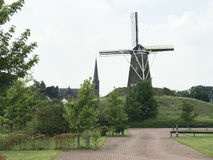 De Prins van Oranje a tower mill Royalty Free Stock Photo