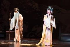 """De prinses Huai - Verslag van Zuidelijke boeg-Jiangxi opera""""four dromen van linchuan† Royalty-vrije Stock Fotografie"""