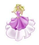 De prinses nam toe Stock Afbeeldingen