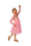 De Prinses van de ballerina Stock Afbeeldingen