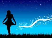 De prinses van de ster Stock Afbeeldingen
